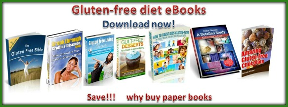 List of gluten-free diet eBooks | gluten-free vendors