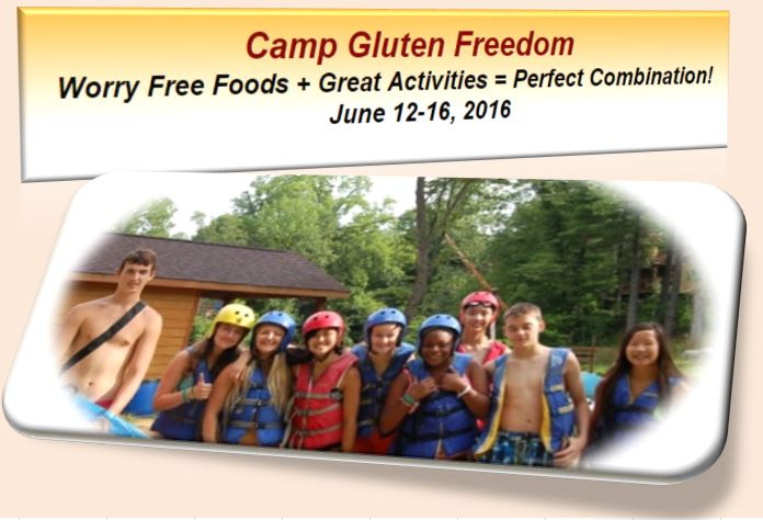 gluten freedom Camp, FlatRock River IN